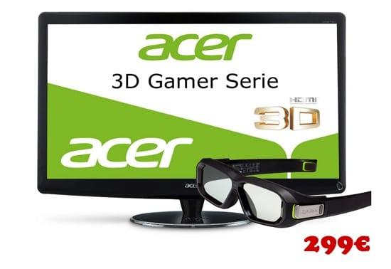 3D Gaming Monitor