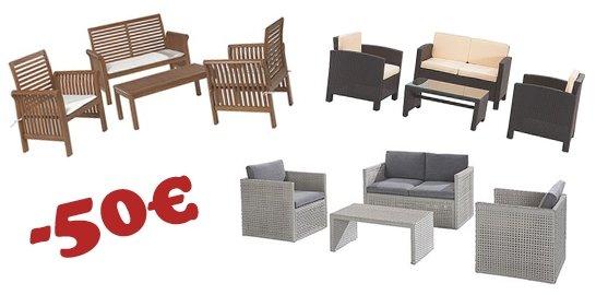 Balkonmöbel lounge  Balkonmöbel - OBI dreht durch und bietet 50€ Rabatt auf alle ...