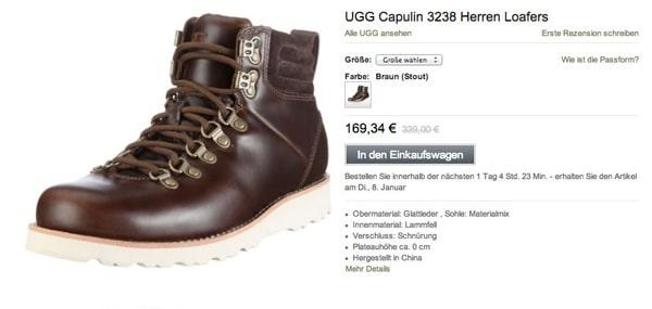 Günstige Winterstiefel Capulin Loafers