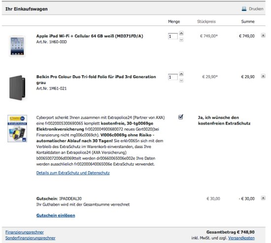 iPad kaufen 2