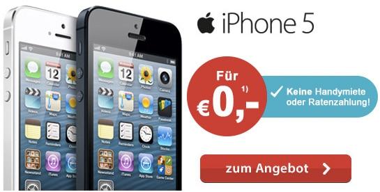 iPhone 5 kostenlos 2