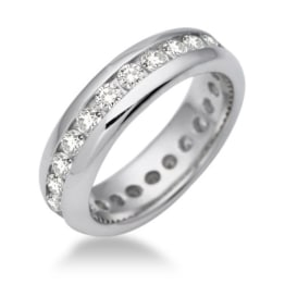 Miore Damen-Ring Memoire 925 Sterling-Silber Zirkonia MSM089RM -
