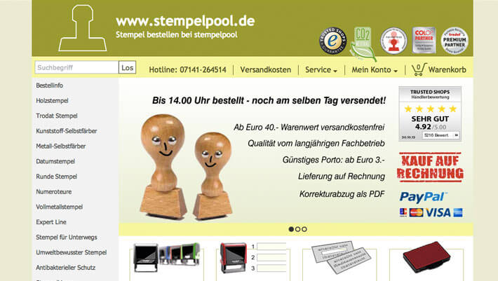 stempelpool shop
