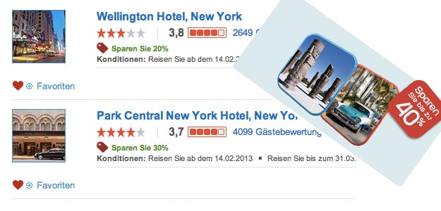 USA Aurlaub Hotels.com Angebote
